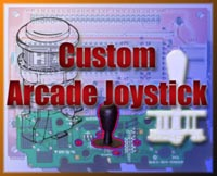 My custon arcade joystick.